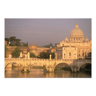 Europe, Italy, Rome, The Vatican. Basilica San Photo Print