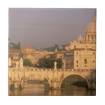 Europe, Italy, Rome, The Vatican. Basilica San Small Square Tile