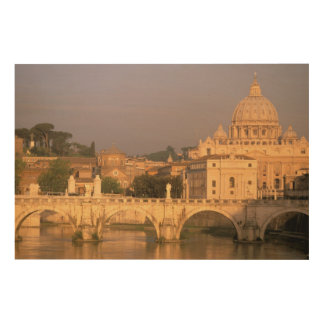 Europe, Italy, Rome, The Vatican. Basilica San Wood Wall Decor
