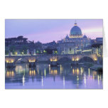 Europe, Italy, Rome, The Vatican. St. Peter's & Greeting Card