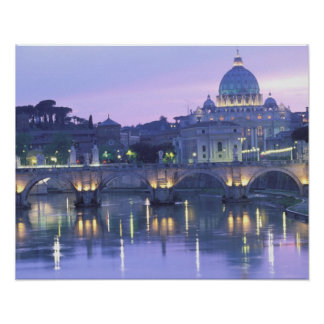 Europe, Italy, Rome, The Vatican. St. Peter's & Poster