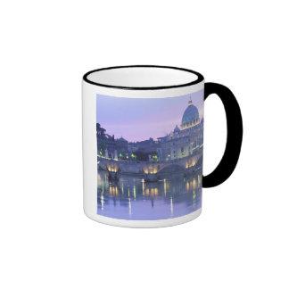 Europe, Italy, Rome, The Vatican. St. Peter's & Ringer Mug