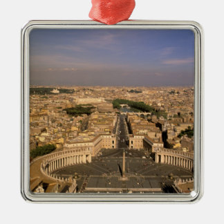 Europe, Italy, Rome, The Vatican. View from St. Christmas Ornament
