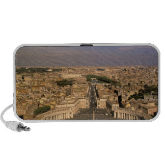Europe, Italy, Rome, The Vatican. View from St. iPod Speakers