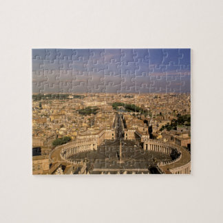 Europe, Italy, Rome, The Vatican. View from St. Jigsaw Puzzle