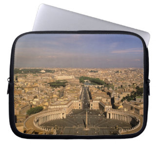 Europe, Italy, Rome, The Vatican. View from St. Laptop Sleeve