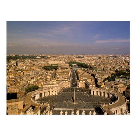 Europe, Italy, Rome, The Vatican. View from St.