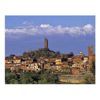 Europe, Italy, San Miniato. Beneath a wide, Postcard