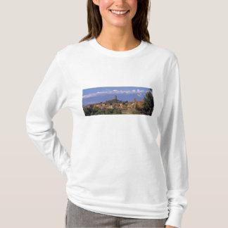 Europe, Italy, San Miniato. Beneath a wide, T-Shirt