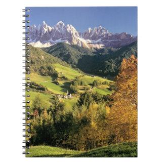 Europe, Italy, Santa Magdalena. The tiny Spiral Notebook
