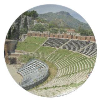 Europe, Italy, Sicily, Taormina. 3rd century Dinner Plate