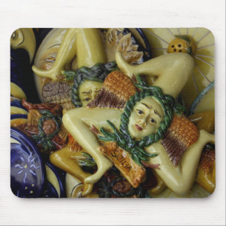 Europe, Italy, Sicily, Taormina. Traditional 9 Mouse Mat