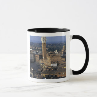 Europe, Italy, Siena. Town overview Mug