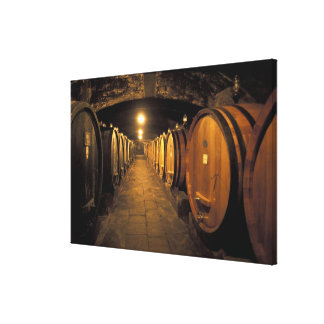 Europe, Italy, Toscana region. Chianti cellars Canvas Print