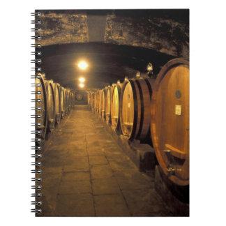 Europe, Italy, Toscana region. Chianti cellars Notebook