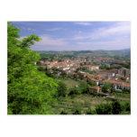 Europe, Italy, Tuscany, Certaldo. Mediaeval hill Post Cards