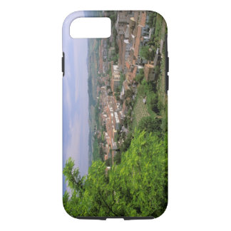 Europe, Italy, Tuscany, Certaldo. Medieval hill iPhone 8/7 Case