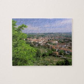 Europe, Italy, Tuscany, Certaldo. Medieval hill Puzzles