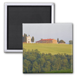 Europe; Italy; Tuscany, Chaple on The Hill Magnet