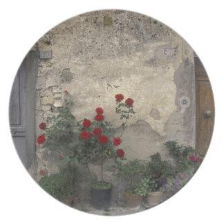 Europe, Italy, Tuscany, Chianti, Tuscan doorway; Plate