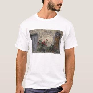 Europe, Italy, Tuscany, Chianti, Tuscan doorway; T-Shirt