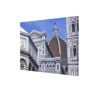 Europe, Italy, Tuscany, Florence. Piazza del 2 Canvas Print