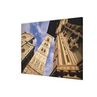 Europe, Italy, Tuscany, Florence. Piazza del 3 Canvas Prints