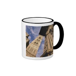 Europe, Italy, Tuscany, Florence. Piazza del 3 Ringer Mug