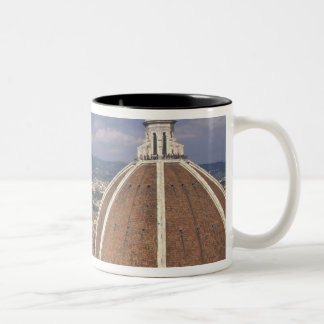 Europe, Italy, Tuscany, Florence. Piazza del Two-Tone Coffee Mug