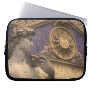Europe, Italy, Tuscany, Florence, Piazza della Laptop Sleeves