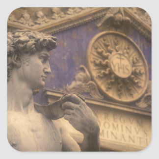 Europe, Italy, Tuscany, Florence, Piazza della Square Sticker