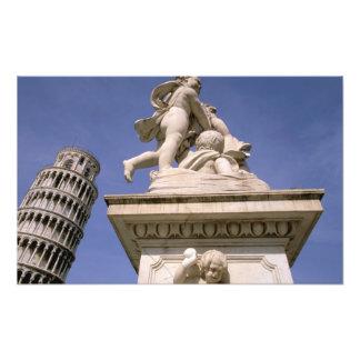 Europe, Italy, Tuscany, Pisa. Piazza dei Photo Print