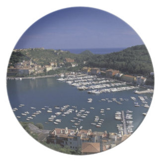 Europe, Italy, Tuscany, Porto Ercole, View of Plate