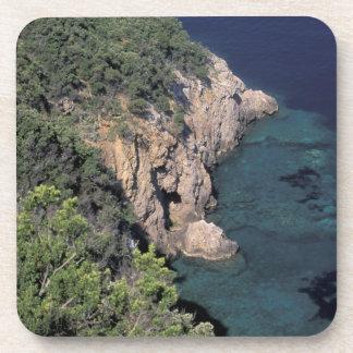 Europe Italy Tuscany Rocky coast Cala Beverage Coasters