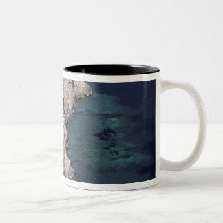 Europe, Italy, Tuscany. Rocky coast; Cala Coffee Mug