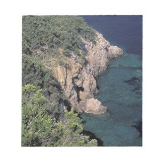 Europe, Italy, Tuscany. Rocky coast; Cala Notepad
