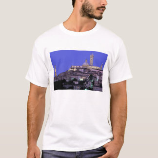 Europe, Italy, Tuscany, Siena. 13th C. Duomo and T-Shirt