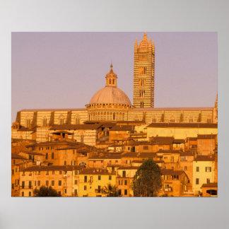 Europe, Italy, Tuscany, Siena. 13th century 2 Poster