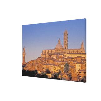 Europe, Italy, Tuscany, Siena. 13th century 3 Canvas Print