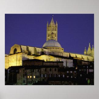 Europe Italy Tuscany Siena 13th century Posters
