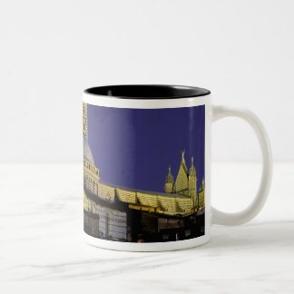 Europe, Italy, Tuscany, Siena. 13th century Two-Tone Coffee Mug