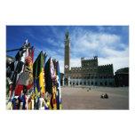 Europe, Italy, Tuscany, Siena. Piazza del Photo Art
