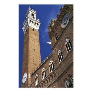Europe, Italy, Tuscany, Siena. Torre del Photo
