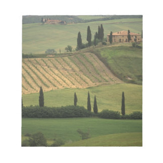 Europe, Italy, Tuscany, Val d' Orcia, Tuscan Notepad
