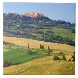 Europe, Italy, Tuscany, Val d'Orcia, Pienza - 2 Tile
