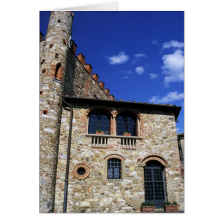 Europe, Italy, Umbria, Chianti, Montebenichi. Card