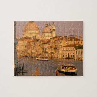 Europe, Italy, Veneto, Venice. Sunset view of Jigsaw Puzzle