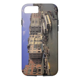 Europe, Italy, Venice, Boat traffic by Rialto iPhone 8/7 Case