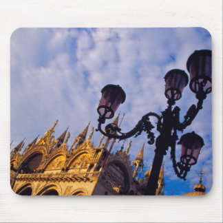 Europe, Italy, Venice. Byzantine Basilica and Mouse Mat