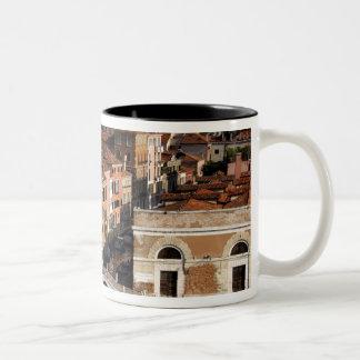 Europe, Italy, Venice. Canal views. UNESCO Two-Tone Coffee Mug